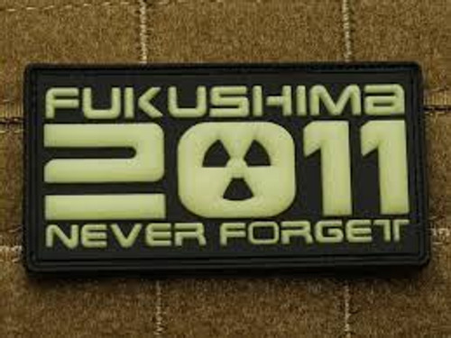 Fukushima 2011 Never Forget - Morale Patch