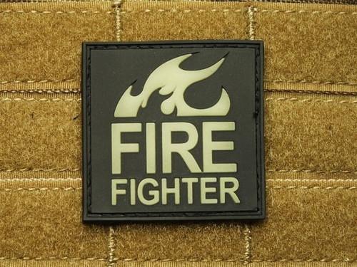 JTG Firefighter PVC Glow In The Dark - Morale Patch