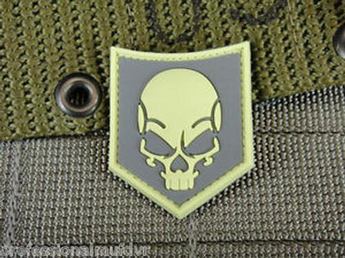 Ghost SOF Skull PVC - SWAT Grey