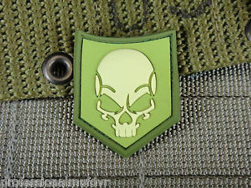 Ghost SOF Skull PVC - Olive Drab