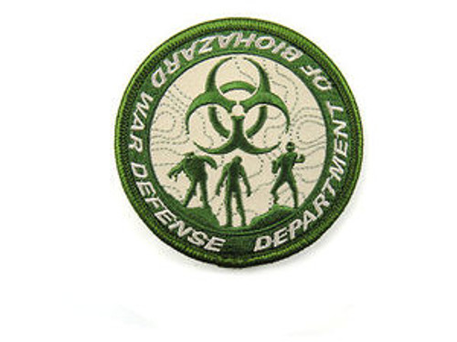 Department of Biohazard War Defense - Tan - Morale Patch
