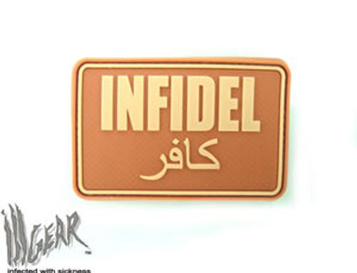 Infidel PVC - Desert - Morale Patch