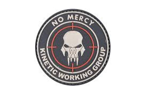 No Mercy Kinetic Working Group PVC - Black - Morale Patch