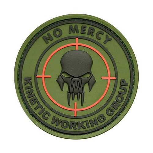 No Mercy Kinetic Working Group PVC - Green - Morale Patch