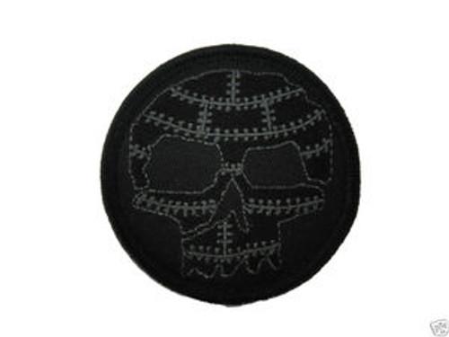 Tactical Black Stealth Bomber Skull - Morale Patch