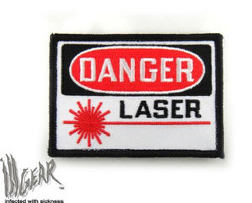Danger Laser - Morale Patch