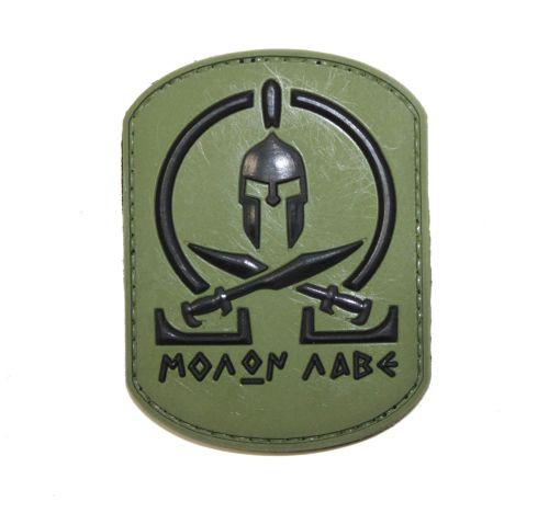 Molan Labe PVC - O.D green - Morale Patch