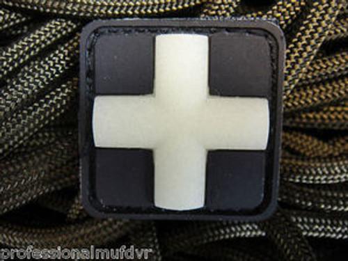 Mini PVC Redcross Medic - Glow In The Dark - Morale Patch