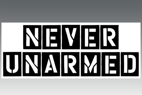 Decal - Never Unarmed