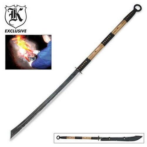 Japanese Naginata Ninja Sword