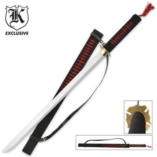 Red Warrior Ninja Samurai Ninjato Sword & Sheath