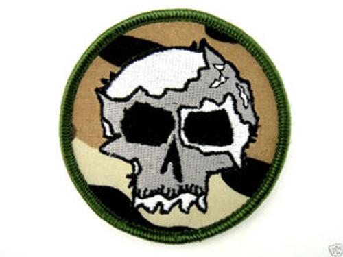 Camo War Skull - Morale patch