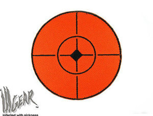 Fluorescent Orange Shooting Target
