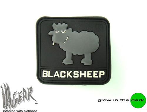 PVC Black Sheep - Glow In The Dark - Morale Patch