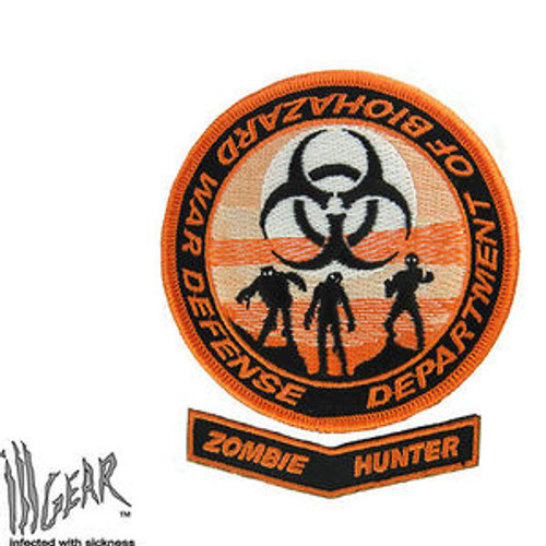 Department of Biohazard War Defense - Orange - Morale Patch