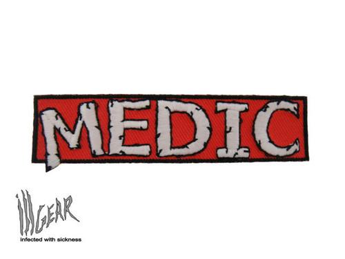 GITD Mini Medic - Red - Morale Patch