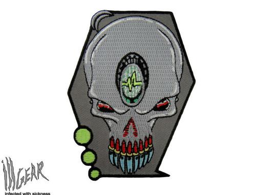 Alien UFO Skull - Morale patch