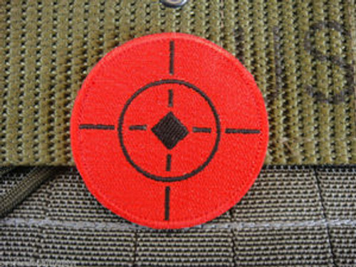 Red Shooting Target Patch
