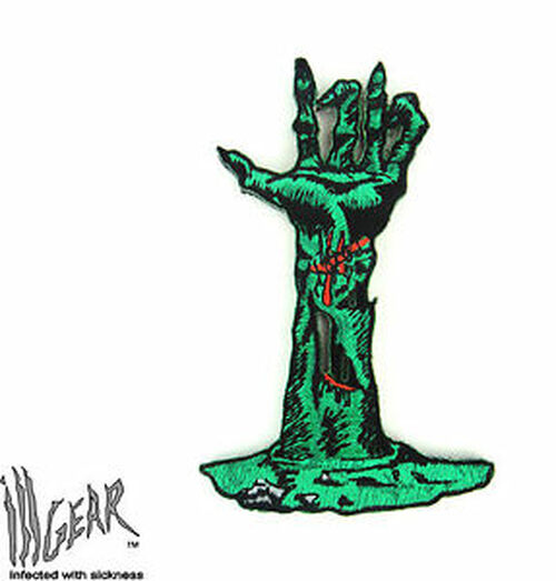 Zombie Hand Out Of Grave - Morale Patch