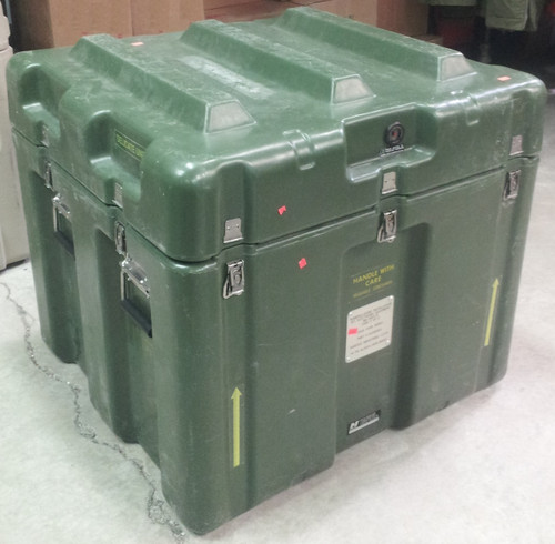 U.S. Armed Forces Hardigg Electronics Transport Container