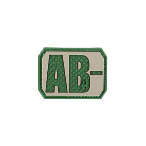 AB- Blood Type PVC - Morale patch - Arid