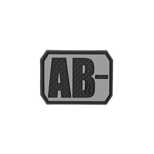 AB- Blood Type PVC - Morale patch - SWAT