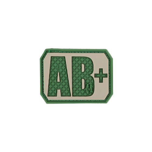 AB+ Blood Type PVC - Morale Patch - Arid