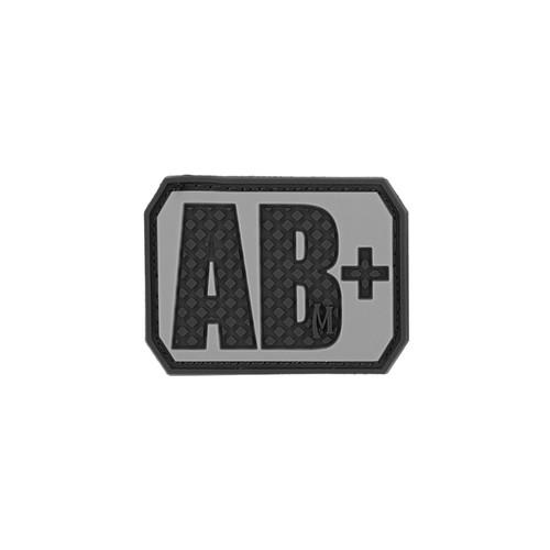 AB+ Blood Type PVC - Morale Patch - SWAT
