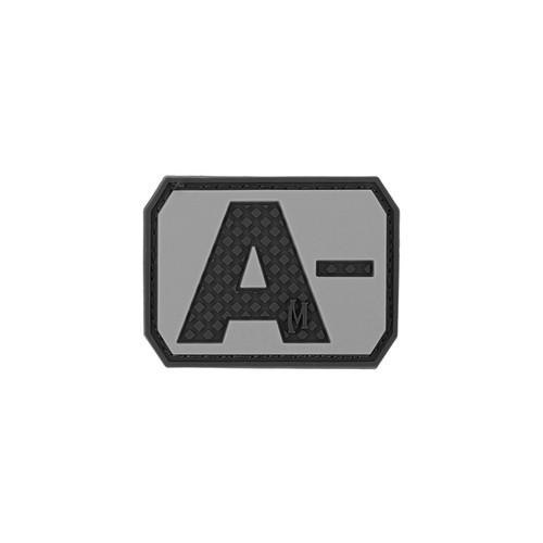 A- Blood Type PVC - Morale Patch - SWAT