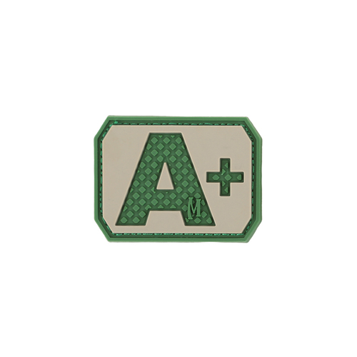A+ Blood Type PVC - Morale Patch - Arid