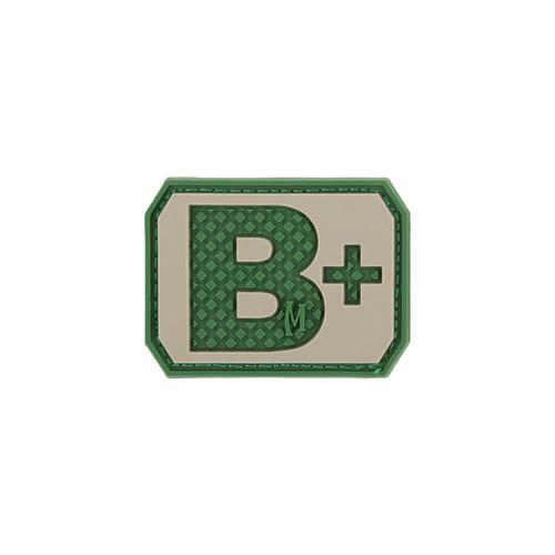B+ Blood Type PVC - Morale Patch - Arid