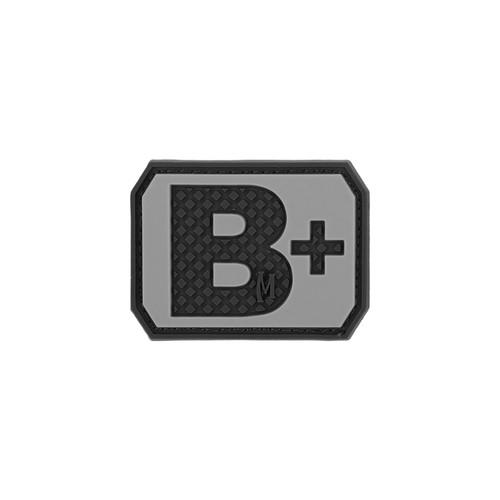 B+ Blood Type PVC - Morale Patch - SWAT