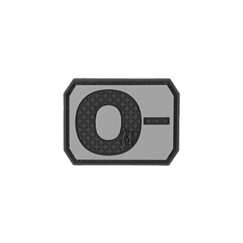 O- Blood Type PVC - Morale Patch - SWAT
