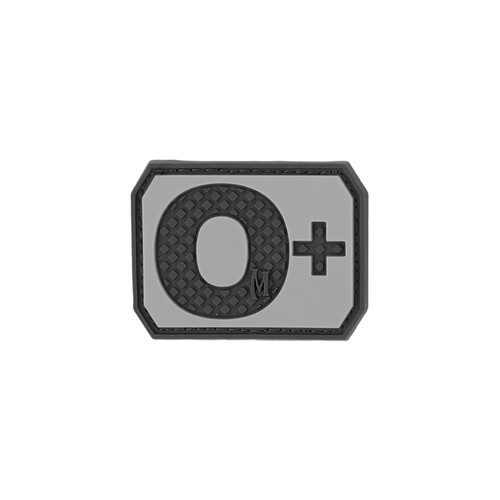 O+ Blood Type PVC - Morale Patch - SWAT