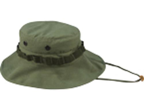 Vintage Boonie Hat Vietnam - Olive Drab