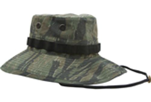 Vintage Boonie Hat Vietnam - Tiger Stripe