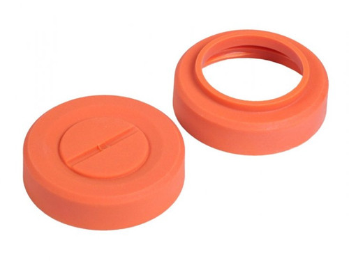 Thunder B Ring Cap - 2pcs - Orange