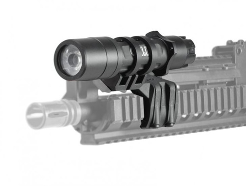 Magpul Rail Light Mount (Left) w/ Cyclops Flash Light Combo