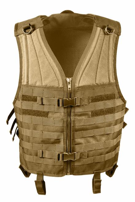 MOLLE Modular Vest - Coyote Brown