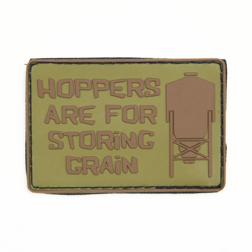 Hoppers Are For Storing Grain - Tan - Morale Patch