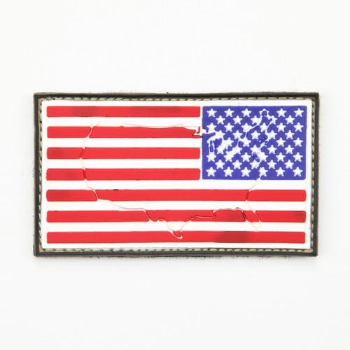 US Flag - Reverse - Raised - Morale Patch