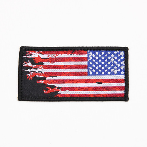 US Flag - Reverse - Worn - Morale Patch