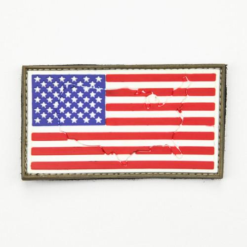US Flag - Standard - Raised - Morale patch