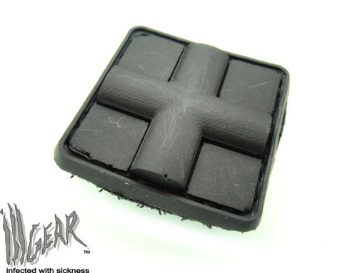 Mini PVC Redcross Medic - Black - Morale Patch