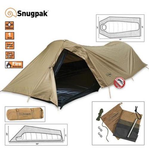 Snugpak Ionosphere One Man Tent Coyote - Tan