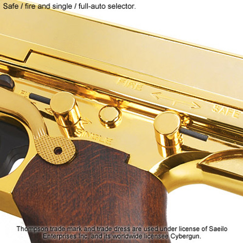 King Arms Thompson M1A1 Military Grand Special - Gold