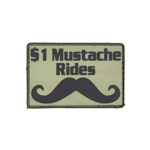 $1 Mustache Rides - OD - Morale Patch