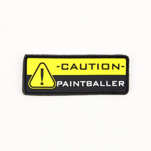 - CAUTION - Paintballer - Morale Patch