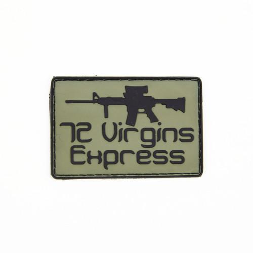 72 Virgins Express - OD - Morale Patch