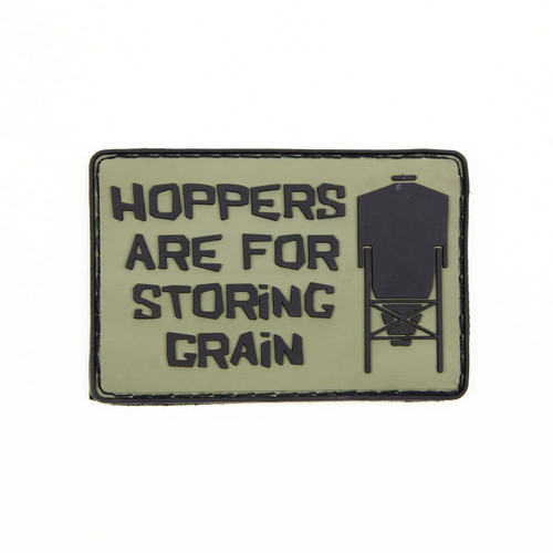 Hoppers Are For Storing Grain - OD - Morale Patch